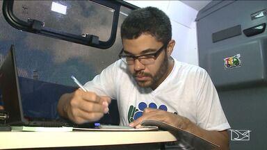 Novos defensores tomam posse em ação itinerante - O Maranhão tem 186 defensores públicos que trabalham em quase 40 regionais. Hoje quatro novos defensores tomaram posse.