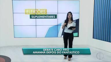 Inter TV transmitirá ao vivo debate com candidatos à eleição suplementar de Cabo Frio - Debate será neste domingo (17).