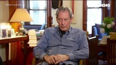 "Escritor americano Paul Auster comenta sobre o livro ""4321"""