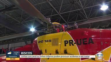 Soltar pipa com cerol ou linha chilena é proibido; saiba quais são as punições - Veja a entrevista com o tenente do Corpo de Bombeiros Pedro Aihara.