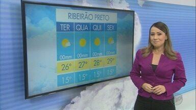 Confira a previsão do tempo para esta terça-feira (19) em Ribeirão Preto - Temperatura sobe e não há possibilidade de chuva.