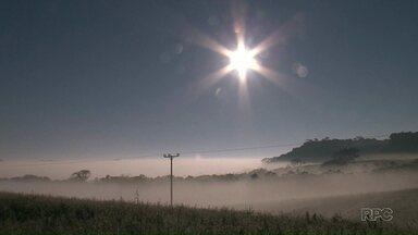 Francisco Beltrão amanhece fria e com muita neblina nesta terça-feira (19) - Temperatura mínima chegou a quatro graus logo cedo.