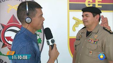 Candidatos fazem testes físicos para concurso da PM da Paraíba - Testes serão feitos no Vila Olímpica Parahyba.