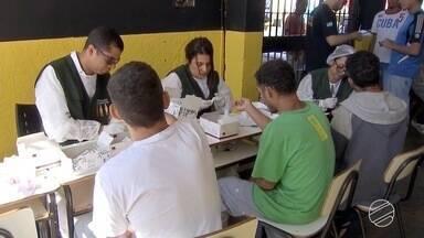 Mutirão leva saúde e cidadania para presos em Campo Grande - É uma nova oportunidade para esses detentos.