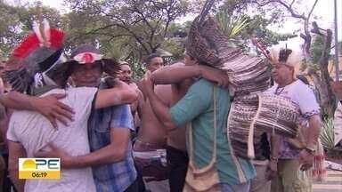 Justiça determina desocupação de terras de índios da tribo pankararu, no Sertão - Famílias devem deixar a área em 90 dias, de acordo com decisão do TRF da 5ª Região