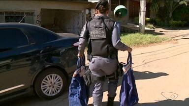 Seis pessoas são presas na Operação Panaceia, no Sul do ES - Seis pessoas foram presas nesta quarta-feira (20), em Cachoeiro de Itapemirim, Sul do estado, em uma operação de combate à venda de remédios roubados no Rio de Janeiro.