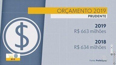 Orçamento de Presidente Prudente para 2019 é de R$ 663 milhões - Valor foi apresentado em audiência pública, nesta quinta-feira (20).
