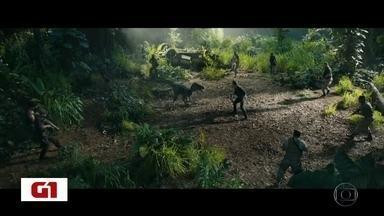 Quinto filme da série Jurassic Park estreia nesta quinta-feira nos cinemas - G1 já assistiu o novo capítulo da saga. Saiba mais sobre essa e outras estreias nas telonas