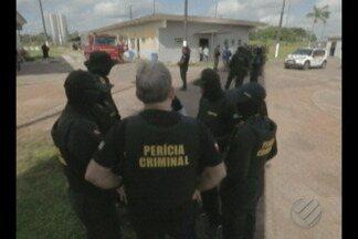 Reconstituição no CRPP III em Santa Izabel pretende esclarecer fuga que houve em abril - Peritos tentam remontar as cenas, num trabalho que já é considerado a maior reconstituição de crime realizada no estado.