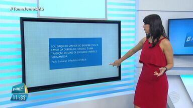 #TamojuntoBMD: Jéssica Senra responde comentários feitos por internautas - Confira as mensagens.