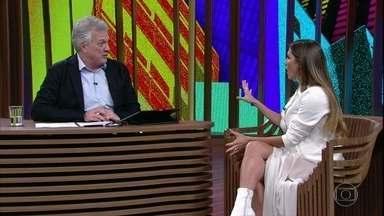 Deborah Secco conta como concilia a criação da filha com o seu trabalho - Além de cinema, atriz está interpretando Karola na novela 'Segundo Sol'