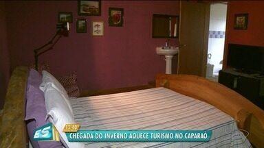 Hotéis e pousadas aguardam esperam movimento na alta temporada no Caparaó - Chegada do frio atrai turistas para a região.