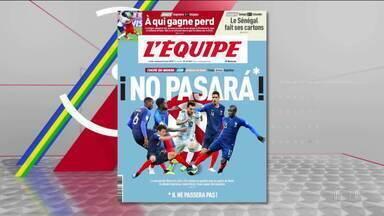 Para França, Argentina é só Messi: 'Não passará', diz jornal francês - Já o técnico da Argentina, Jorge Sampaoli, diz que sonho com um time que tenha 'muita paixão, mas, sobretudo, muito futebol'.