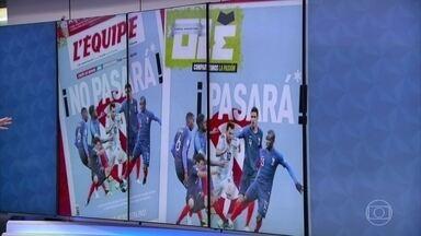 França enfrenta Argentina nas oitavas de final da Copa - A seleção francesa tem a missão de vencer a da Argentina pela primeira vez em uma Copa do Mundo.