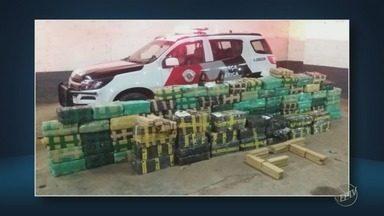PM encontra 1,3 tonelada de maconha em chácara de Limeira e prende homem - Droga estava no barracão do imóvel, localizado no bairro dos Pires. Segundo a Polícia, suspeito diz que fazia a distribuição na região.