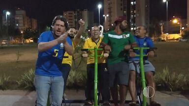 Resenha: Garotinhos estão confiantes em vitória do Brasil sobre o México - A classificação do Brasil em primeiro do grupo deixou os garotinhos do resenha muito confiantes em uma vitória nas oitavas de final contra o México, na próxima segunda-feira.