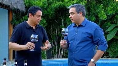 'Sabores e Bastidores': o desafio da degustação de vinhos às cegas - Assista a seguir.