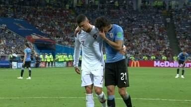 5b10754ec2d9b Uruguai 2 x 1 Portugal - Copa do Mundo 2018 Oitavas de final - Tempo ...
