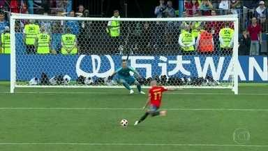 Rússia elimina a Espanha nos pênaltis - 'Nós tivemos muito mais posse de bola, chegamos muito mais na área, chutamos 18 ou 19 vezes, criamos oportunidades. É o futebol', lamentou o técnico espanhol Hierro.