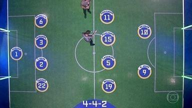 Central mostra mudança tática que ajudou na vitória do Brasil - Central mostra mudança tática que ajudou na vitória do Brasil