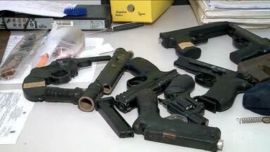 Polícia apreende mais de 150 armas em Imperatriz - Apreensão foi realizada no primeiro semestre do ano.