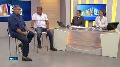 Comentaristas do ES falam sobre a partida do Brasil contra o México - Brasil venceu por 2 a 0.