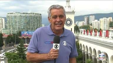 Seleção Brasileira deixa Sochi nesta quinta-feira - Mauro Naves conta as novidades da seleção e as mudanças de escalação para a as quartas de final da Copa do Mundo