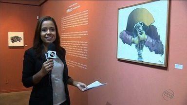 Cangaço é tema de exposição que vai até o fim do mês em Aracaju - Exposição reúne trabalhos em pinturas, xilogravuras e esculturas.