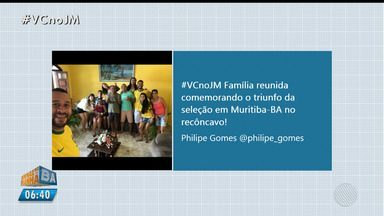 #VCnoJM: internautas enviam imagens da torcida na Copa do Mundo - Confira as mensagens enviadas pelo público.