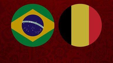 2º Tempo - Brasil 1 x 2 Bélgica - Quartas de final - 2º Tempo - Brasil 1 x 2 Bélgica - Quartas de final