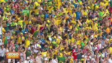 Brasil vence o México e está nas quartas de final da Copa - Veja como brasileiros e mexicanos acompanharam a partida em Brasília