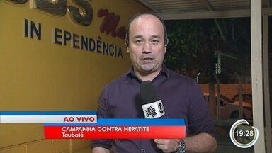 Taubaté faz campanha de prevenção contra hepatite - Campanha julho amarelo faz campanha em 43 unidades da cidade.
