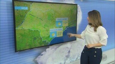 Confira a previsão do tempo desta quinta-feira (5) - Confira a previsão do tempo desta quinta-feira (5)