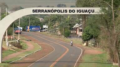 Redação Móvel chega a Serranópolis do Iguaçu - A cidade fica a 71 quilômetros de Foz do Iguaçu.