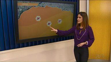 Veja como deve ficar a previsão do tempo nesta quinta (5) - Ar mais aquecido e seco mantém as temperaturas altas no Paraná
