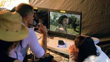 Confira com foi feito os efeitos especiais da nova novela O Tempo Não Para - veja o vídeo