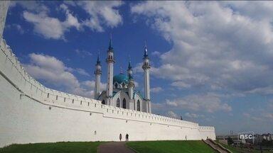Palco de Brasil x Bélgica, Kazan ostenta monumentos e encanta brasileiros na Rússia - Palco de Brasil x Bélgica, Kazan ostenta monumentos e encanta brasileiros na Rússia