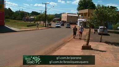 Moradores de Santa Maria do Oeste podem participar da campanha Brasil Que Eu Quero - É só gravar um vídeo contando o que esperam para o futuro do país.