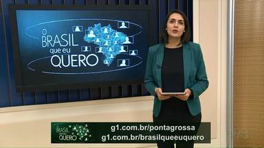 Que Brasil você quer para o futuro? - Grave seu vídeo e mande pra gente.