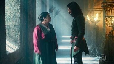 Afonso encontra com Brumela - Afonso está em busca de Diana