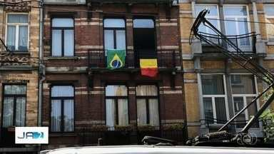 Goianos na Bélgica torcem pelo Brasil na Copa do Mundo - Confira os palpites de quem vai ver o jogo do país rival.