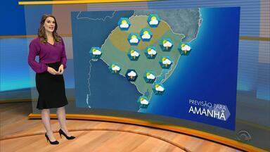 Tempo: chuva pode atingir maior parte do RS na sexta-feira (6) - Assista ao vídeo.