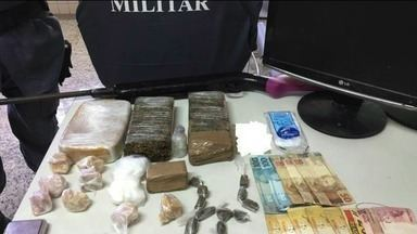 Operação da PM apreende drogas em Piúma, ES - Operação aconteceu na manhã desta quinta-feira (5).