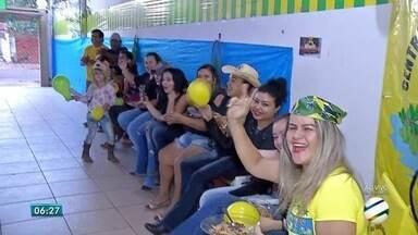 Torcedores de Corumbá se preparam para torcer pelo Brasil - Brasil enfrenta a Bélgica nesta sexta-feira (6) pelas quartas de final da Copa do Mundo da Rússia.