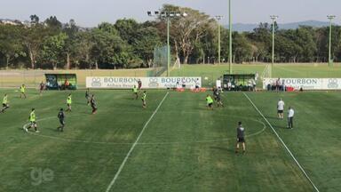 Inter faz coletivo em Atibaia e tem formação de time para jogo-treino - Assista ao vídeo.