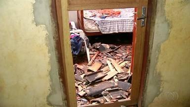 Família tem casa destruída por incêndio em Gurupi - Família tem casa destruída por incêndio em Gurupi