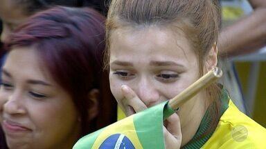 Moradores de MS acompanham seleção brasileira ser eliminada da Copa do Mundo pela Bélgica - Bélgica ganhou de 2x1.