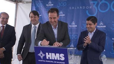 Ministro Gilberto Occhi assina liberação de quase R$ 70 milhões para hospital de Salvador - Hospital Municipal de Salvador fica no bairro de Boca da Mata.