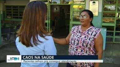 Pacientes reclamam de falta de médicos em Cais de Goiânia - Secretaria de Saúde afirma que há profissionais suficientes para realizar atendimentos.