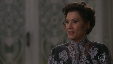 Lady Margareth se enfurece com o enfrentamento de Elisabeta - Darcy afirma que não reconhece mais a irmã de seu pai como membro de sua família
